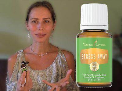 Cмесь эфирных масел Stress Away от Young Living