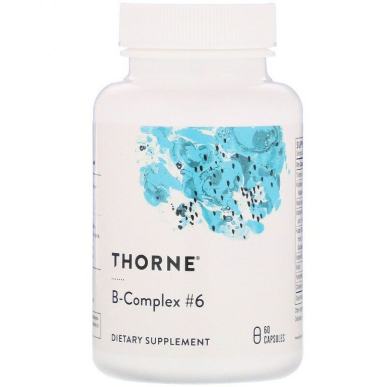 Thorne Research, B-Complex #6, 60 капсул.