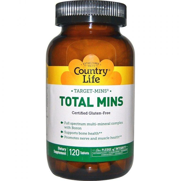 Country Life, Target-Mins, Total Mins, 120 таблеток